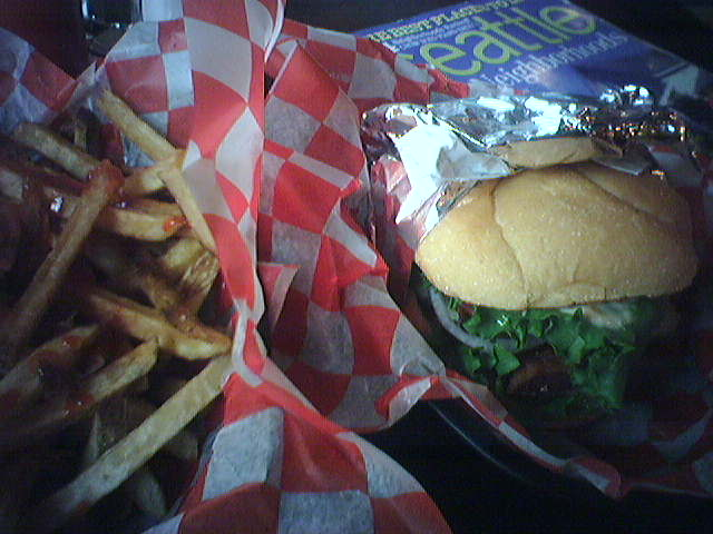 Blue Moon Burgers in South Lake Union
