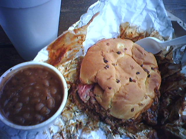 A lunch pit stop Peco's Pit BBQ