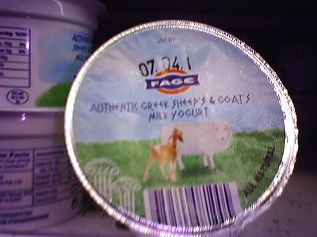 Fage Sheep & Goat's Milk Yogurt