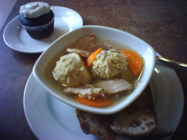 The most delicious Matzoh Ball soup in Seattle!
