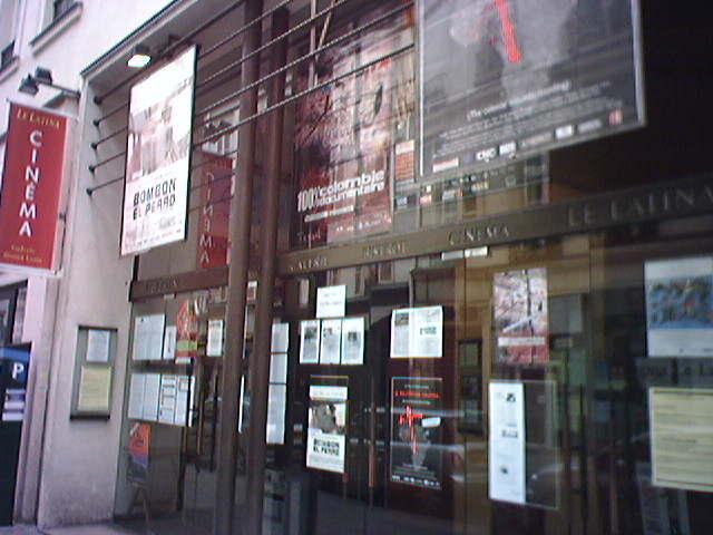 On rue du Temple, Le Latina Cinéma