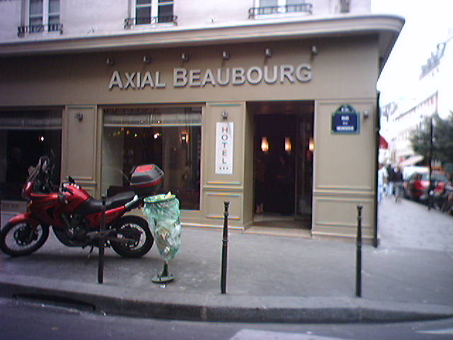 Hôtel Axial Beaubourg