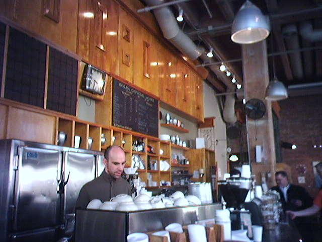At Zeitgeist Coffee