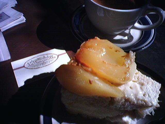 Pear Bread Pudding @ La Panzanella