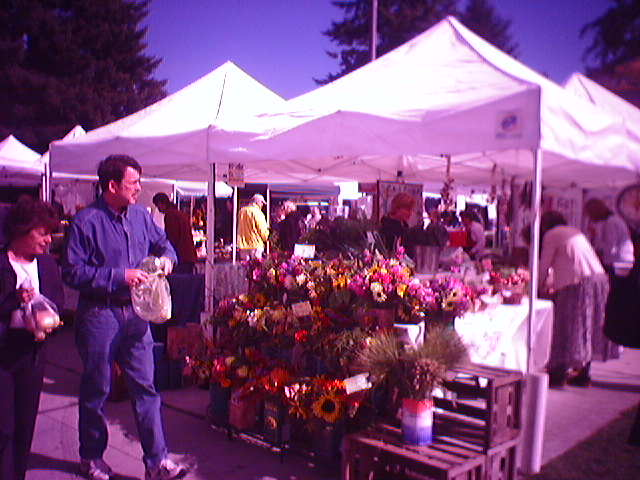 At the Bainbridge Farmers Market
