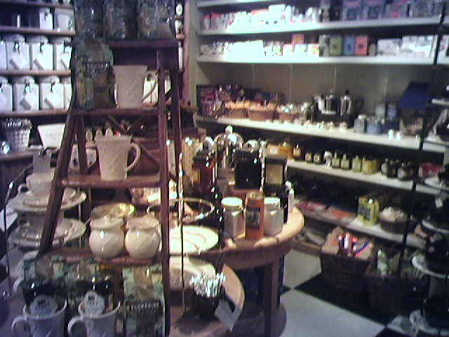 At Churchmouse Yarns & Teas