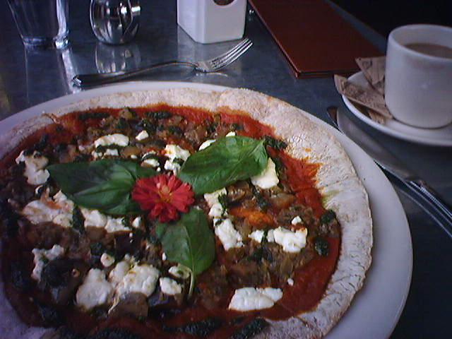 Lunch at Café Flora