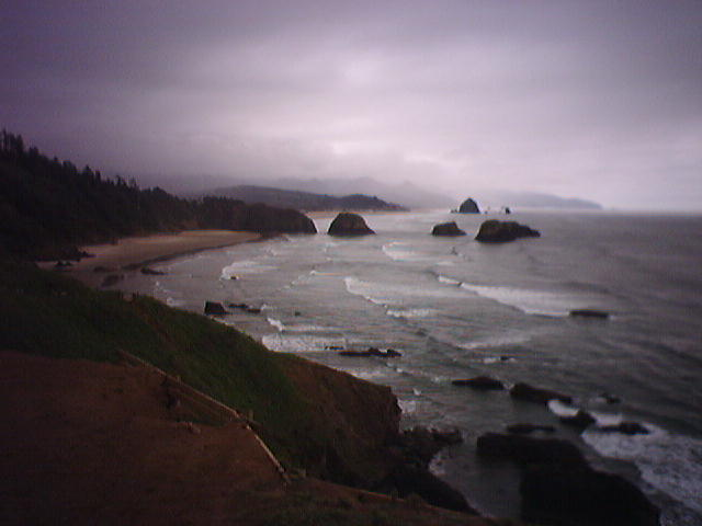 Greetings from Cannon Beach & Haystack Road