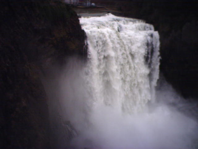 Greetings from Snoqualmie Falls!