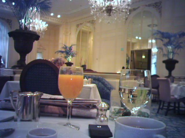 Breakfast at The Georgian